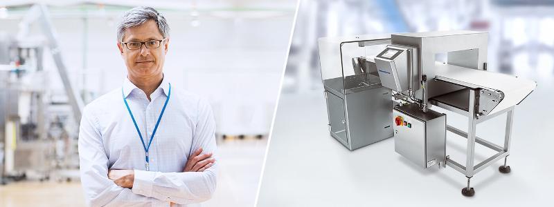 Metalldetektor Vistus - Fremdkörperdetektoren