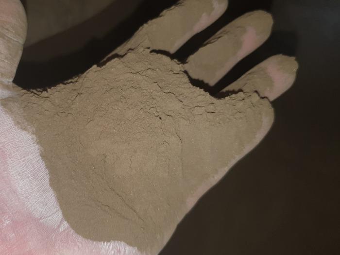 Electrocorundum powder 0- 160 microns - Abrasive materials