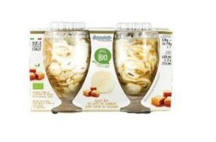 Coupe vanille caramel - Glaces biologiques et surgelées