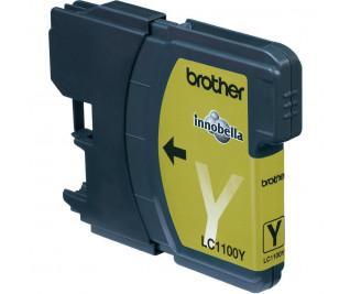 Tinte & Toner - Brother Tintenpatrone LC1100Y Standard capacity LC1100 gelb