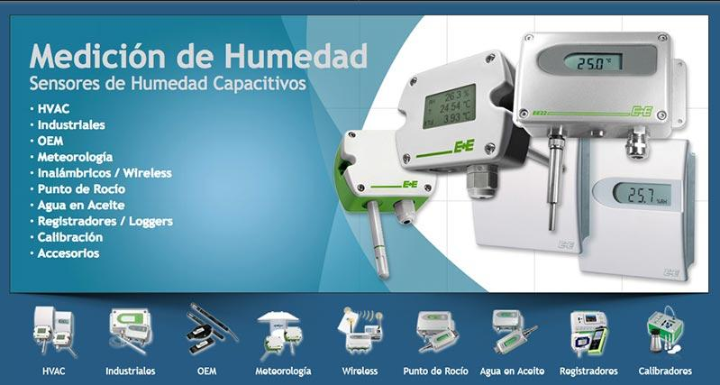 Sensores de Humedad - Sensores de Humedad Relativa