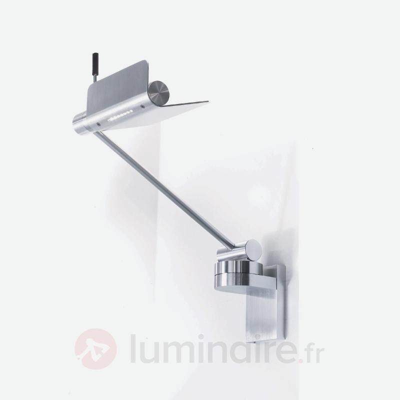 Applique moderne Attik aluminium - Appliques chromées/nickel/inox