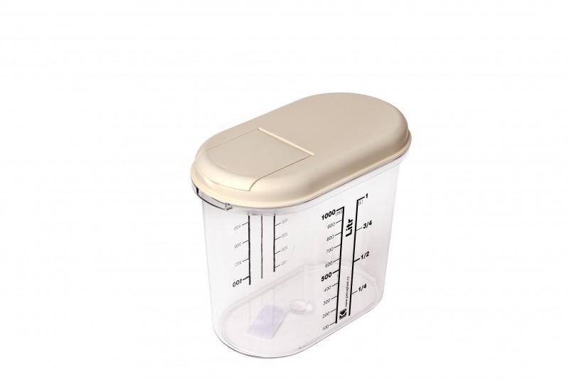 Oval Food Plastic Box 1 L - null