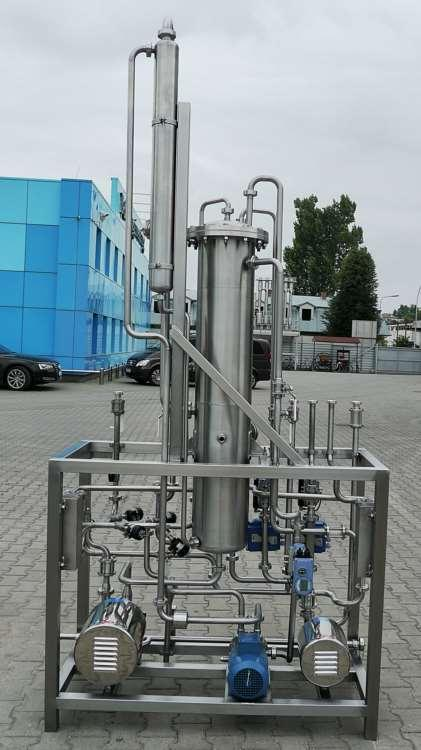 Aroma extraction stations - equipment to collect fruit aroma during the production of concentrates