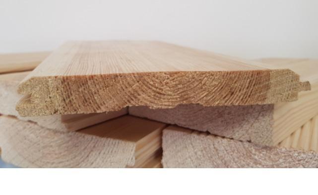 Имитация бруса, 17*135*4000/6000 мм - строганные изделия, камерной сушки, хвойных пород