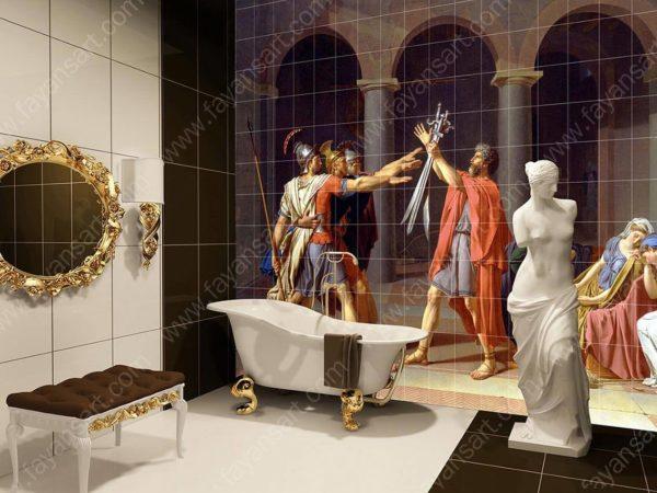 Baskılı Banyo Fayansları