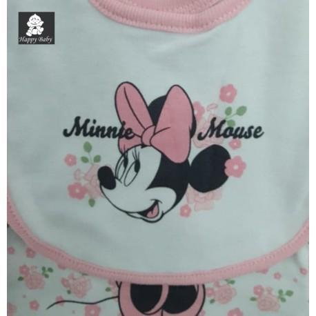 Ensemble 3 pièces Disney Minnie - Q17934 - ENSEMBLES BÉBÉ