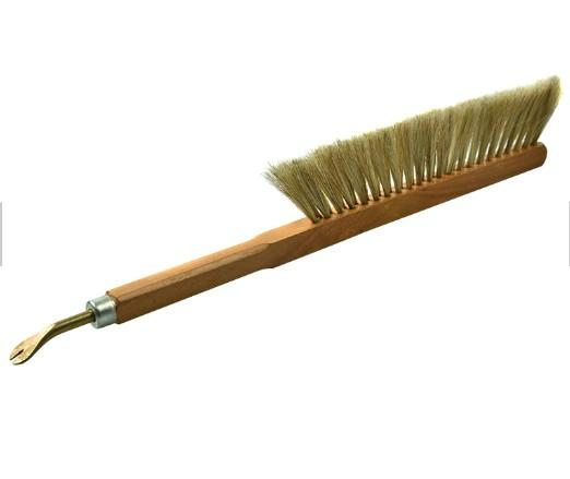 Bee Brush With Nail Puller For Beekeeping Tools -  Bee Brush With Nail Puller For Bee Keeping