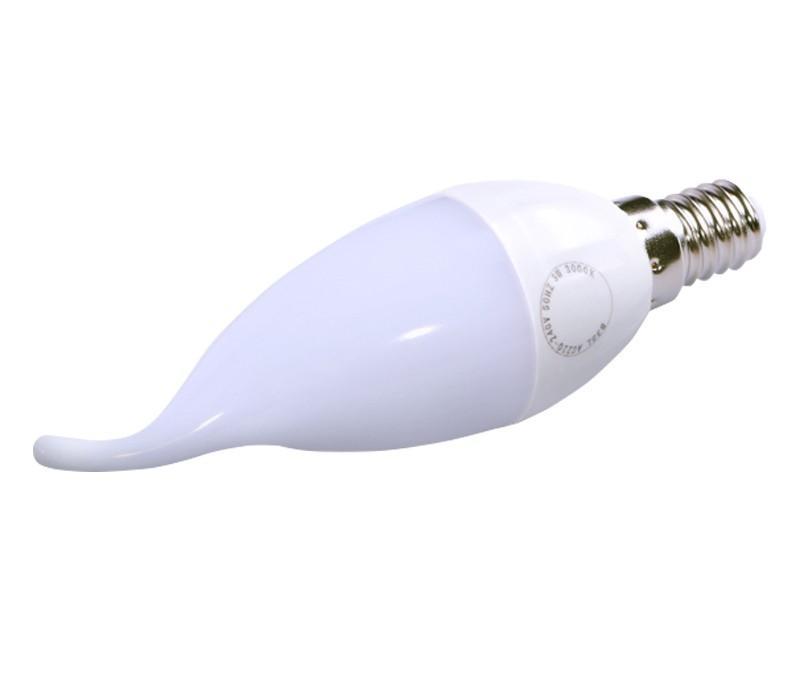 Ampoule LED flamme B35L - 3W, 240 lm, E14, 3000K