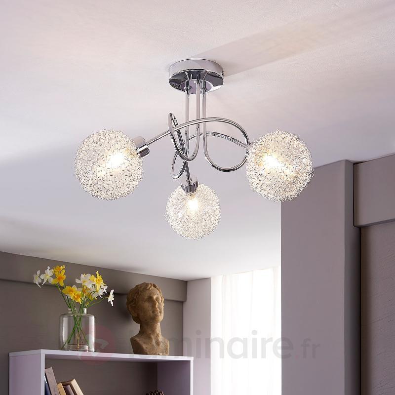 Ticino - plafonnier LED à 3 lampes - Plafonniers LED