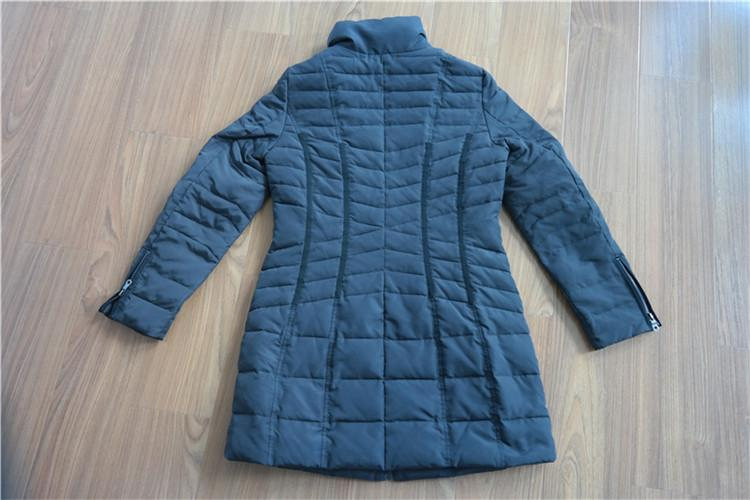 Women's quilting cotton medium coat for winter YH16-27 - YH16-27