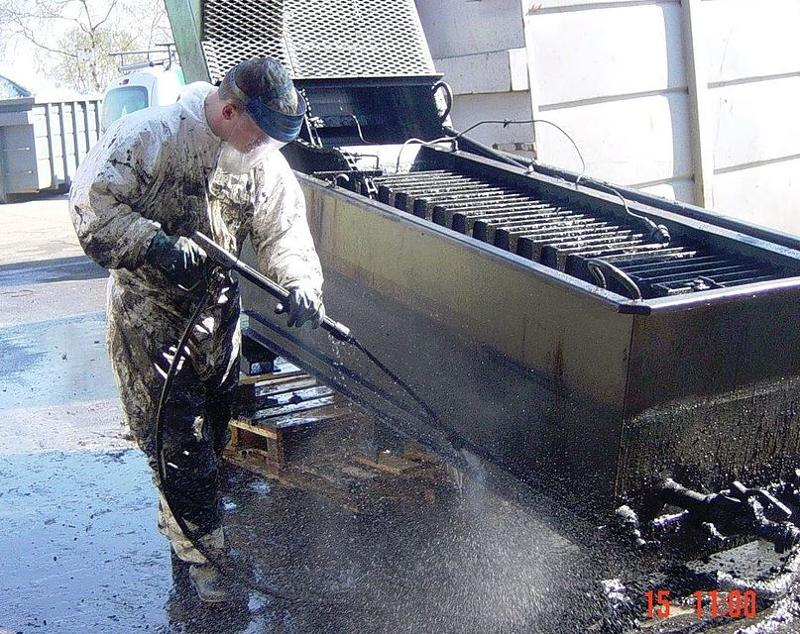 Nettoyage de locaux techniques et de machines industrielles