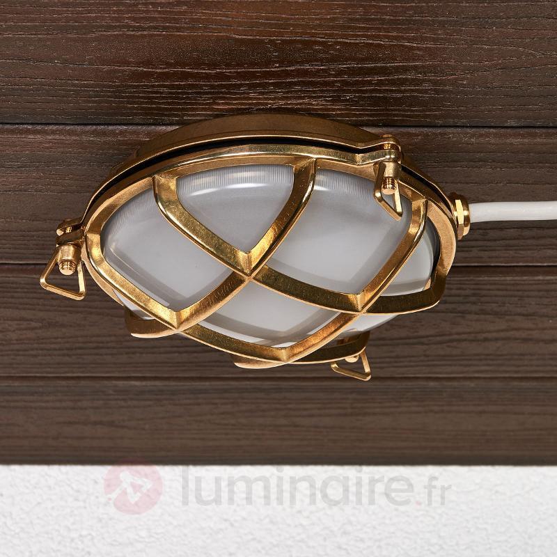 Applique et plafonnier TARTARUGA TONDA 100/200 - Appliques d'extérieur cuivre/laiton