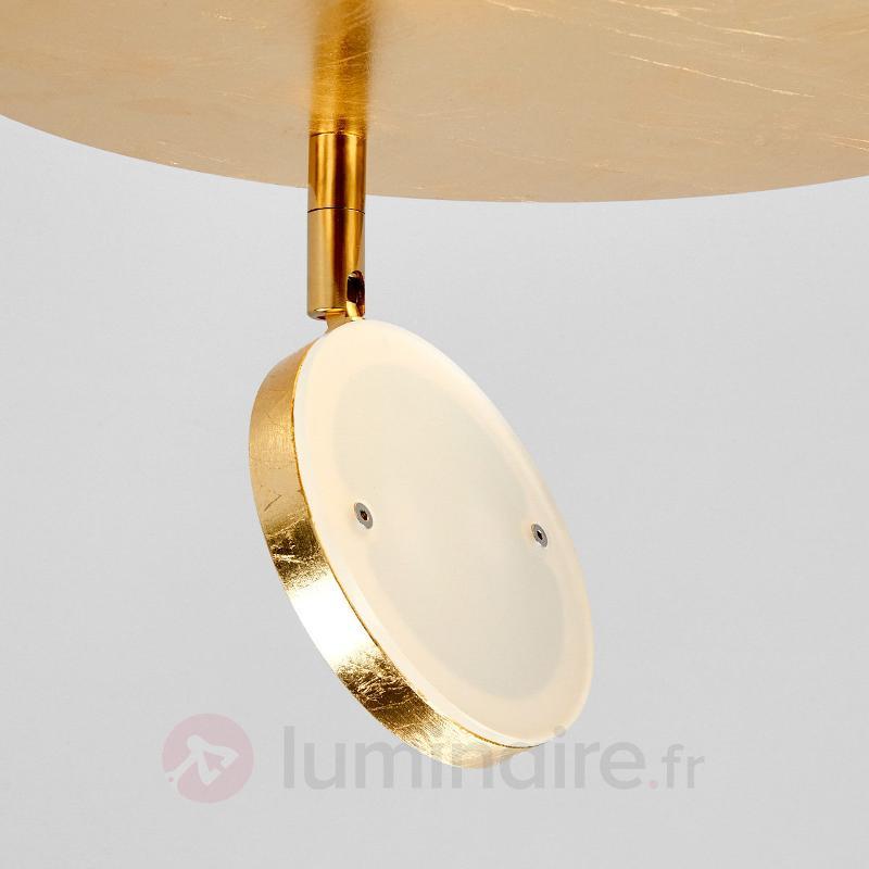 Tina - plafonnier rond LED avec réflecteur - Appliques LED