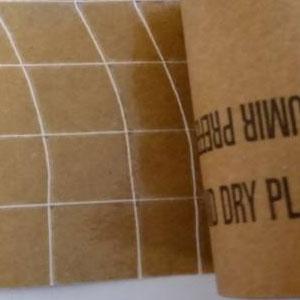 Complejo papel armado, Kraft / rejilla polipropileno / Kraft - PAPELES TECNICOS Y COMPLEJOS