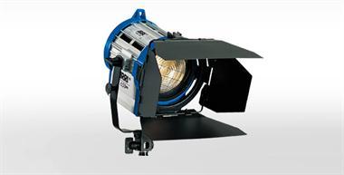 Halogen spotlights - ARRI Junior 650 PLUS man., black, bare ends
