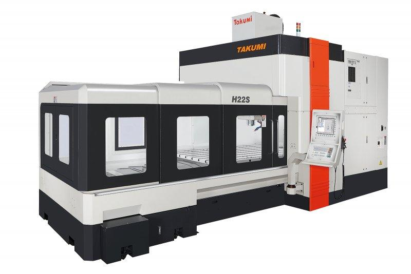 3-Achs-Bearbeitungszentrum - H22S - 3-Achs-Bearbeitungszentrum zum Werkzeug- u. Formenbau, H22S, Takumi
