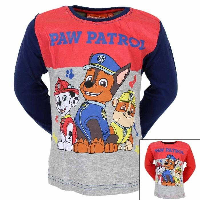 Mayorista Camiseta Nickelodeon Paw Patrol - Camiseta y Polo de manga larga
