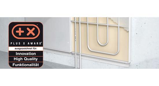 SANHA®-Heat Wandheizungsmodule, verzinktes Stahlblech - Wandheizungsmodul, verzinktes Stahlblech
