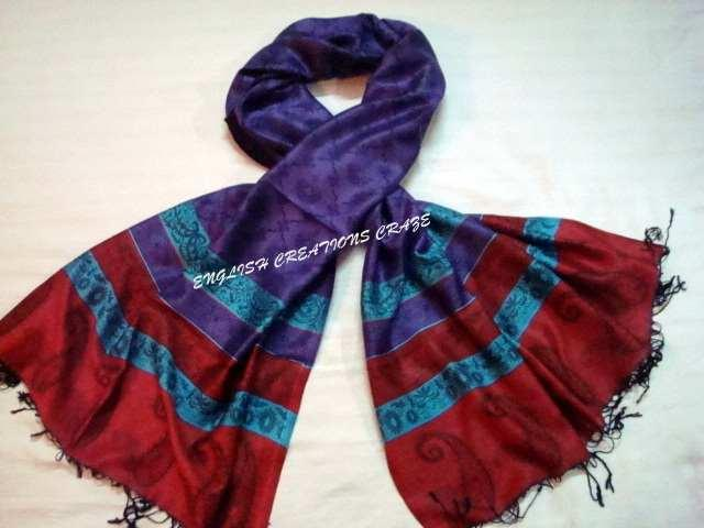 Silk Viscose Scarves - Silk Viscose Scarves