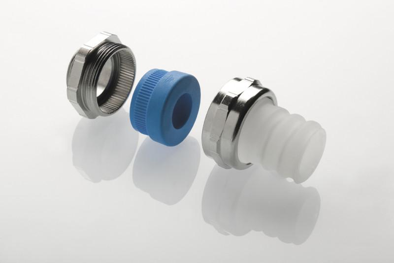 Schlauch-Kabelverschraubungslösungen für mehr Kabelschutz - Schlauch-Kabelverschraubungslösungen für mehr Kabelschutz