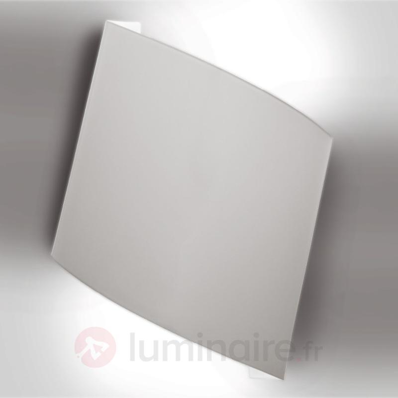 Applique grise Flag - Appliques en verre