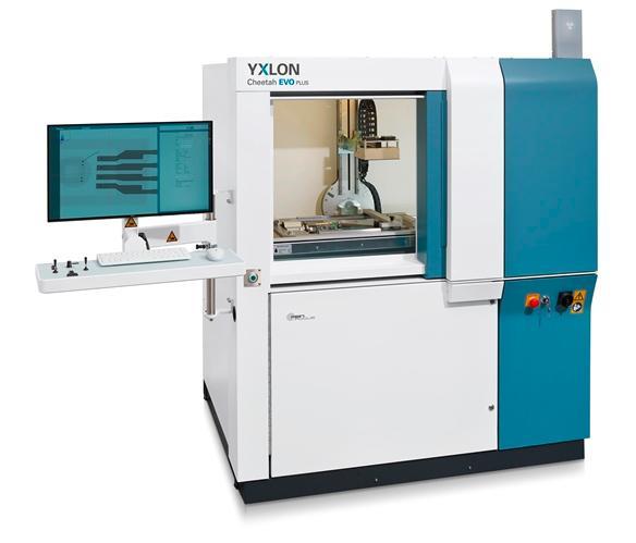 YXLON Cheetah EVO - Industrielles Röntgensystem für die Gussteilprüfung