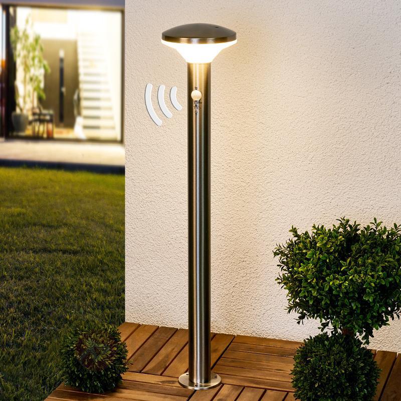 Borne lumineuse avec détecteur Jiyan LED - Bornes lumineuses LED