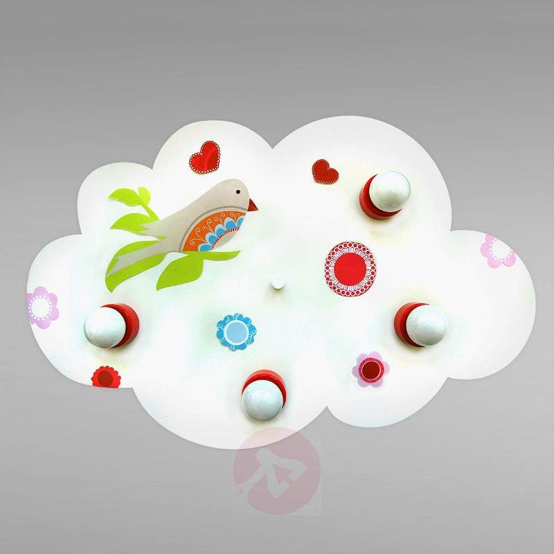 Enchanting Cloud bird of paradise ceiling light - Ceiling Lights