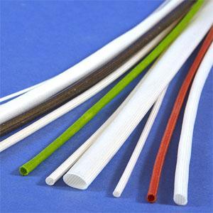 Glasseidenschläuche/Isolierschläuche - in natur, mit Silikon- oder Polyurethanbeschichtung