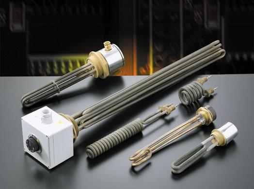 Immersion heaters - electrical-armored-resistances