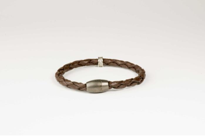 Leather Bracelet - Genuine Leather Brown Bracelet
