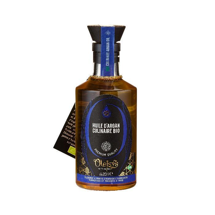 Huile d'Argan culinaire Bio Oleisys® - Huile d'Argan culinaire Bio Oleisys® Flacon bijoux 200 ML