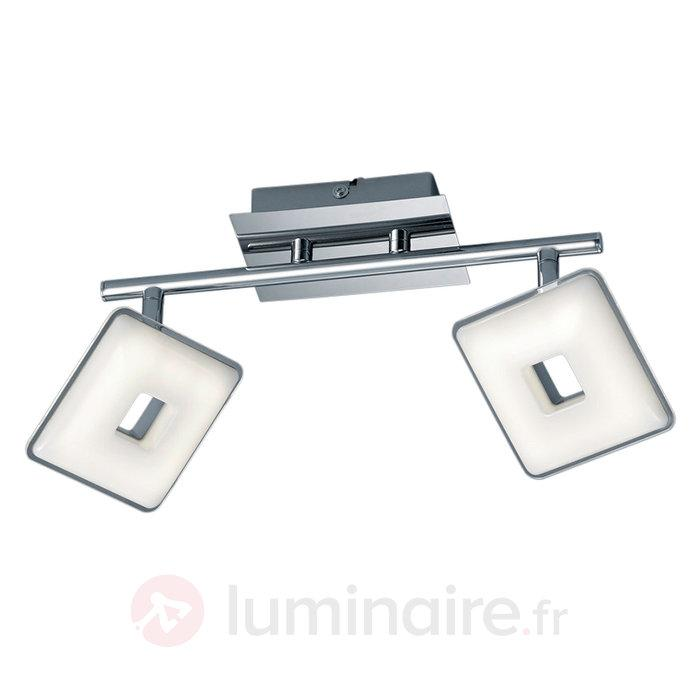 Plafonnier LED à deux flammes Pontius - Spots et projecteurs LED