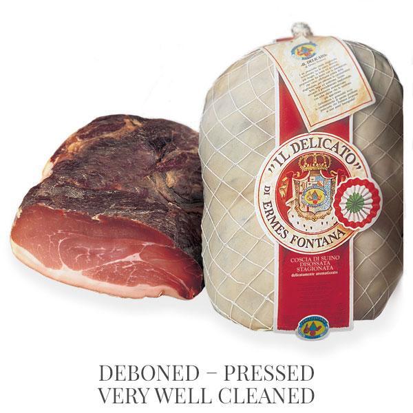 Deboned cured ham Il Delicato - hams