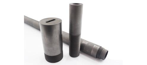 Graphite die for extrusion