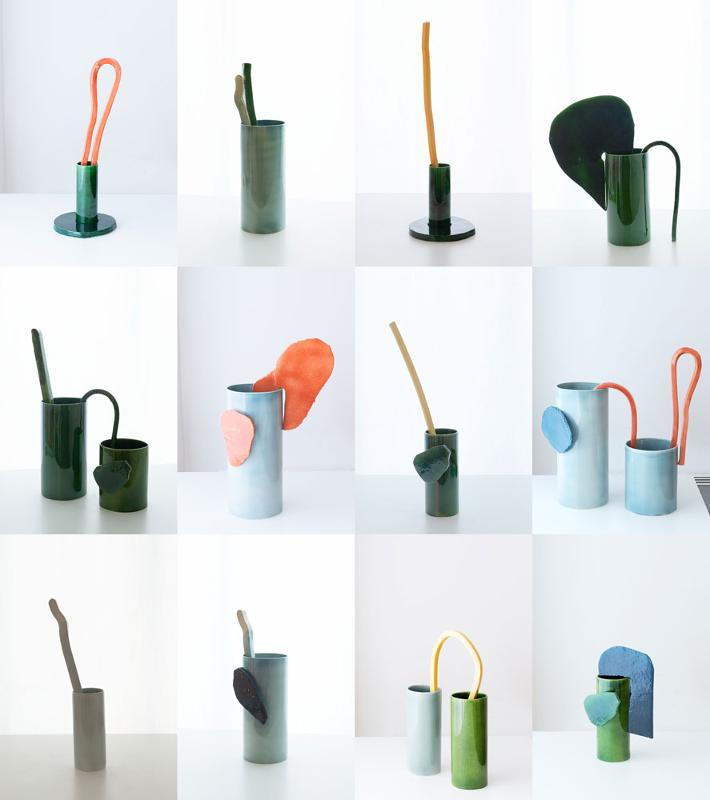Vaso Découpage - Vasi e fioriere