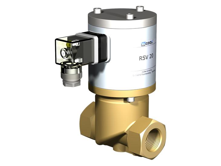 Co-ax Rsv   Drv Lateral Valves - Direct acting valves