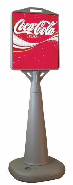 Pavement Signs - Stop trottoir base eau pyramide