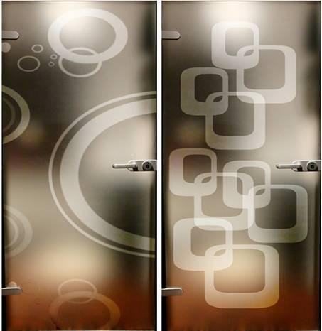 Screen printing decorative glass - Screen printing