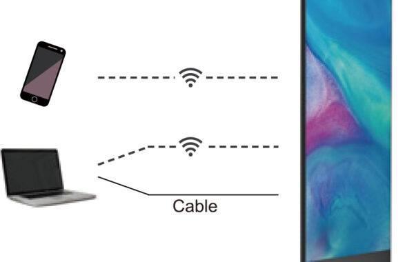 Crius – Totem LED mobile e autoportante - null