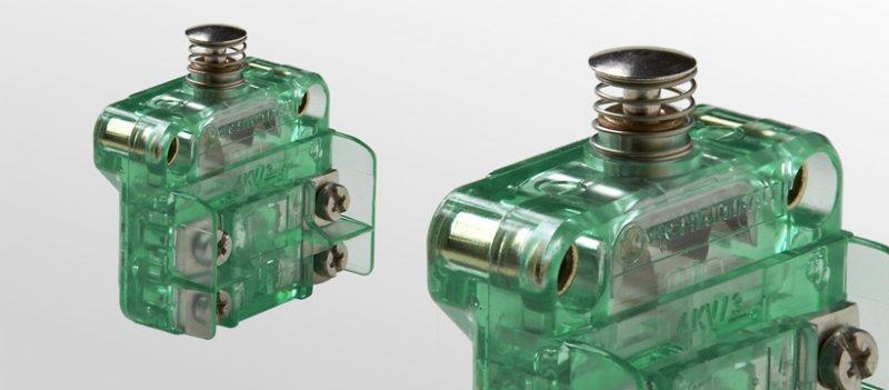 Snap-action switches, S804 - Snap-action switches, S804 - SPDT-DB (Form Za)