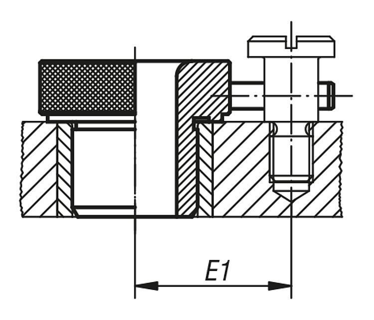 Douille de perçage amovible DIN 173 - Douilles de perçage