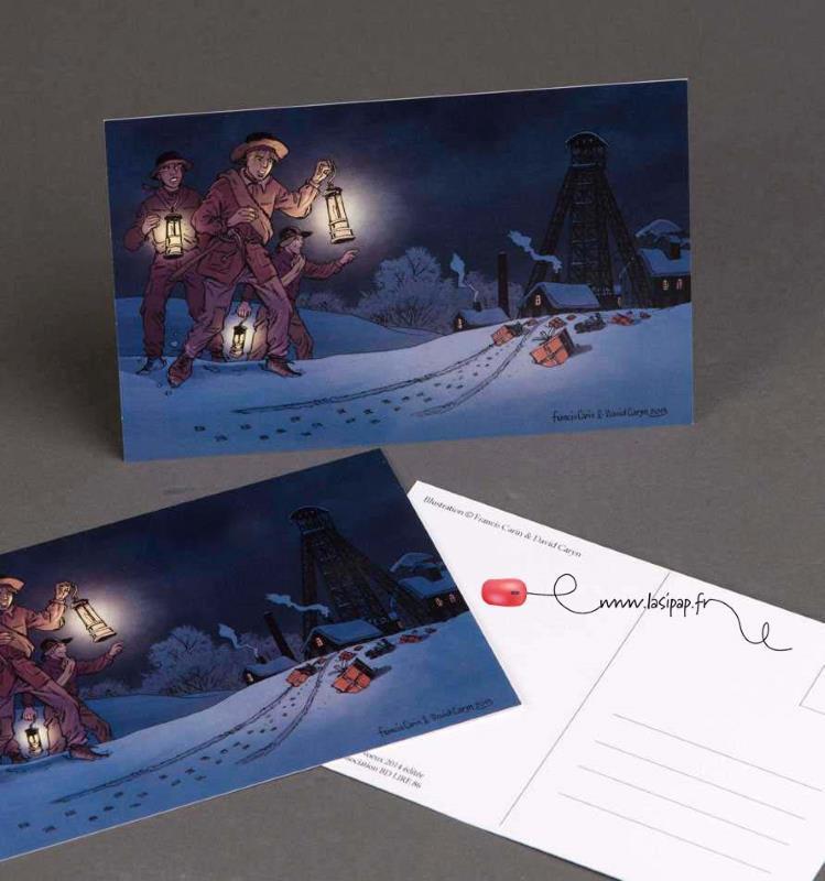 Impression cartes postales