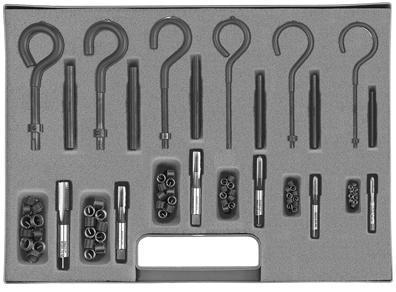 Thread inserts - FILTEC® - Wire thread inserts - Assortment