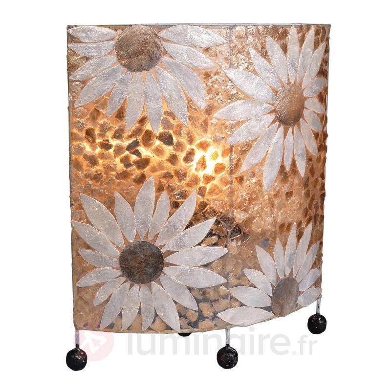 Lampe à poser florale Emy - Lampes de chevet