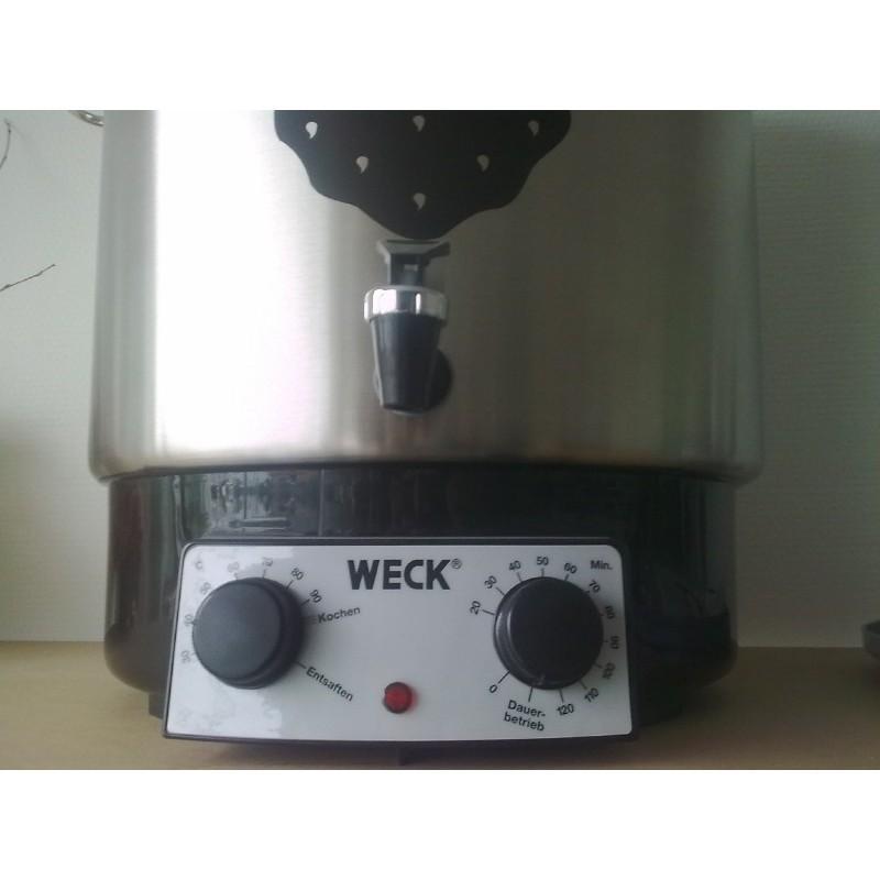 sterilizzatore domestico elettrico inossidabile WECK - modello WAT 25 A
