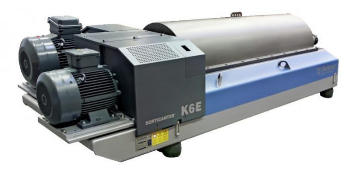 Sorticanter® firmy Flottweg - Sorticanter®: dekanter firmy Flottweg stosowany przy recyklingu