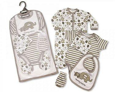 Baby 5 Pieces Layette Gift Set - Mummy and Me -