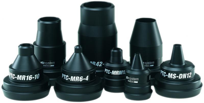 Ptc tube nozzle AD 4mm ID 2mm - Tube die nozzles
